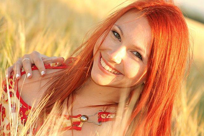Как узнать пойдет ли рыжий цвет волос
