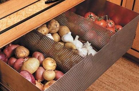 Хранение картофеля зимой на балконе