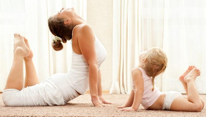 Чем хороша йога как совместное занятие для мамы и малыша