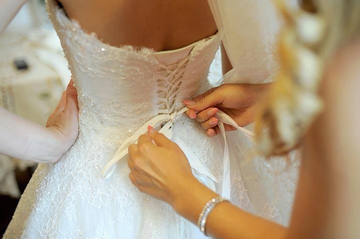 Как выбрать свадебное платье по фигуре.  Фасоны свадебных платьев.