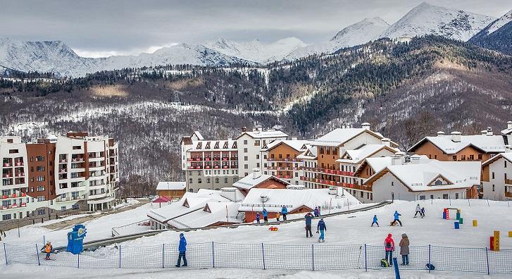 Красная поляна - отдых на современном горнолыжном курорте