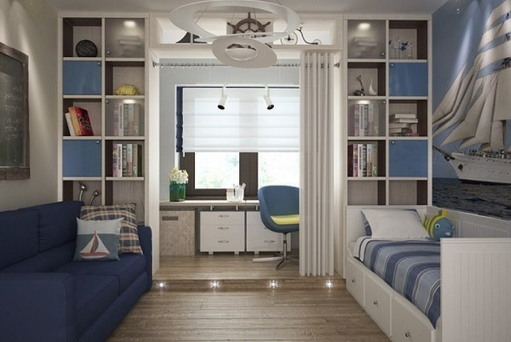 Интерьер для детской комнаты мальчика: формируем мужской характер
