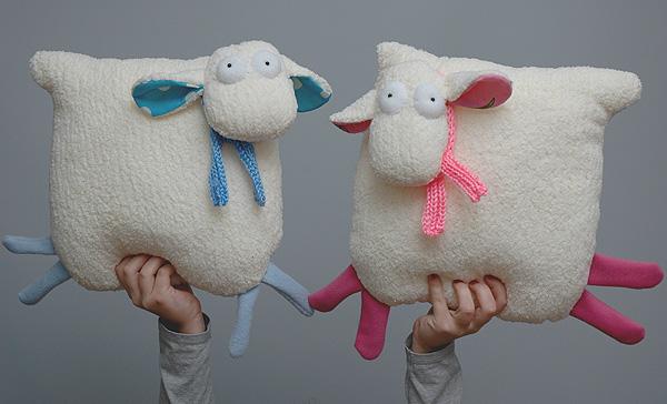 Как сделать подушку своими руками: оригинальные идеи