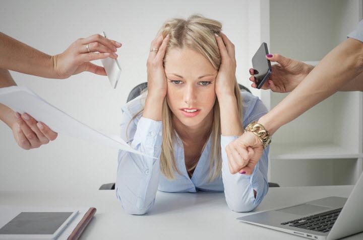 Признаки стресса и депрессии