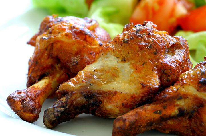 Меню на 23 февраля: курица с овощами в пиве