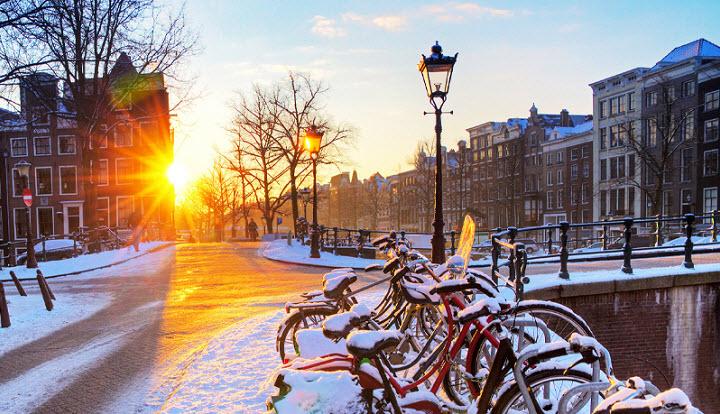 Выходные в Европе. Зимний уик-энд в Амстердаме