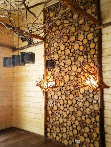 деревянные спилы