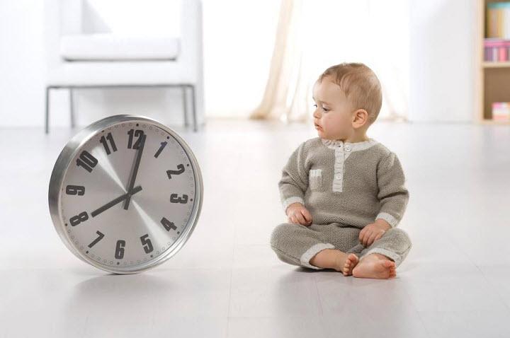Как научить ребенка следить за временем