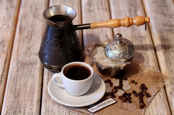 Как сварить вкусный кофе в турке?