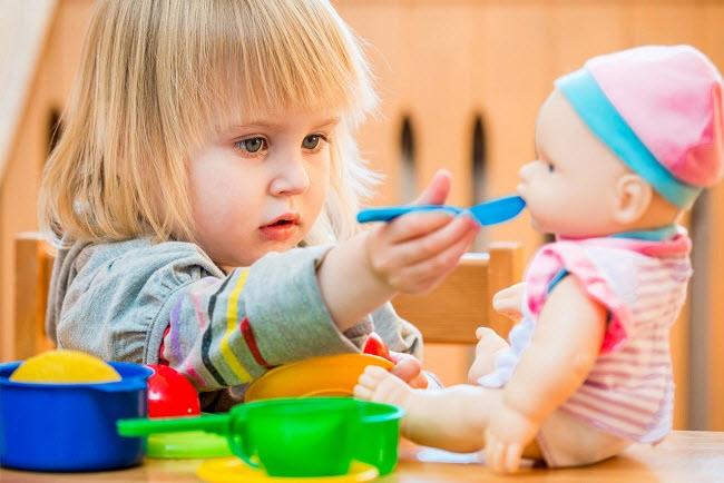 как познакомить ребенка с соленым тестом