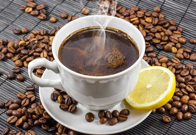 лимонный кофе