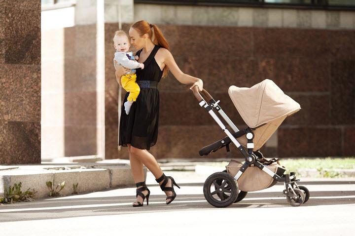 Как выбрать детскую коляску? Типы детских колясок
