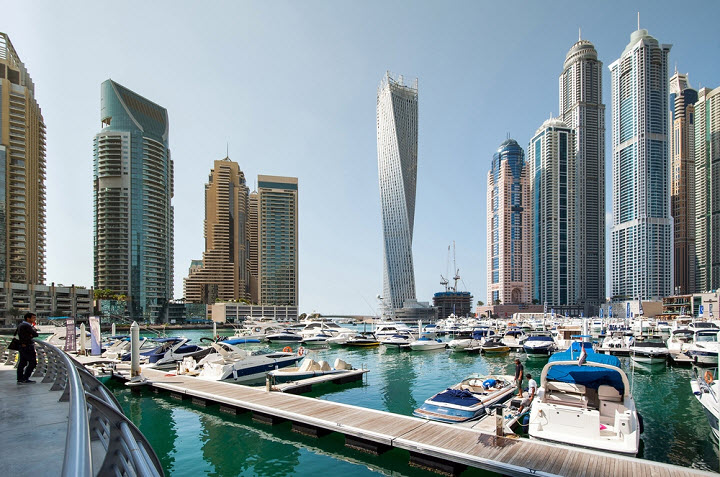 Персидский и Оманский заливы в Дубае