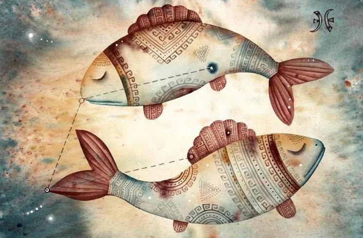 знаком рыб с выделенным люди