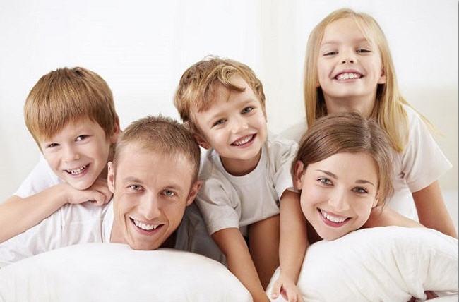 многодетная семья фото