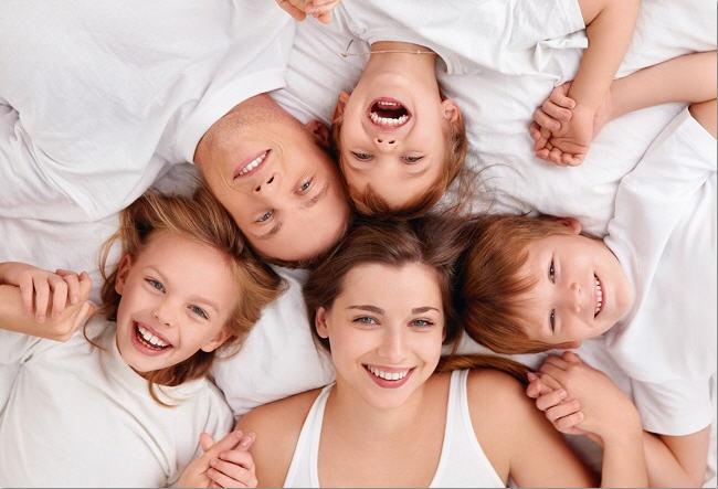 воспитание в многодетной семье