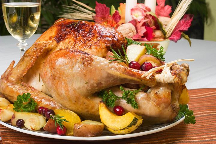 Праздничная курица