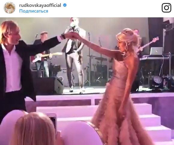 Яна Рудковская и Евгений Плющенко свадьба