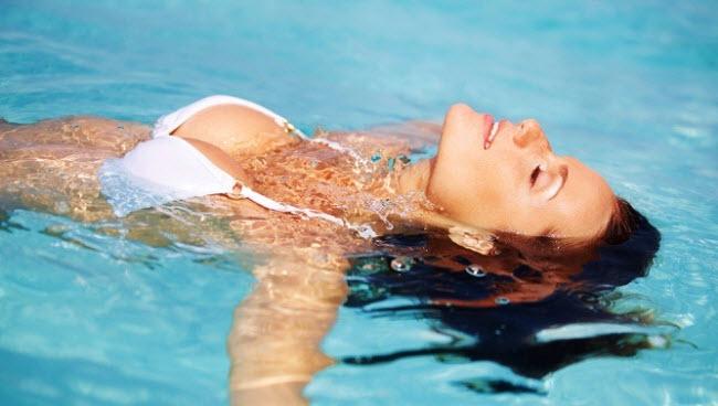 плавание снимает стресс