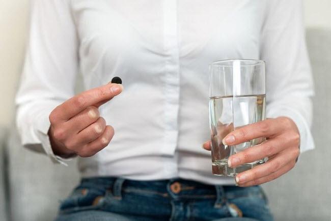 пьем активированный уголь для похудения