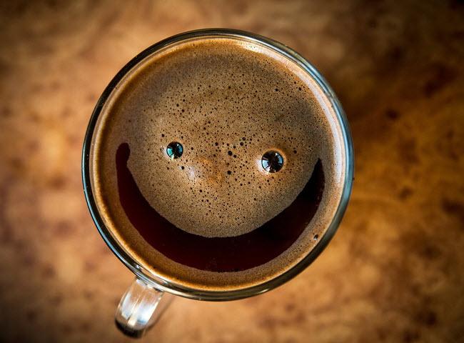 кофе улыбака