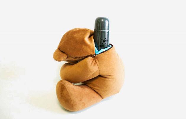 игрушка мишка с секретом