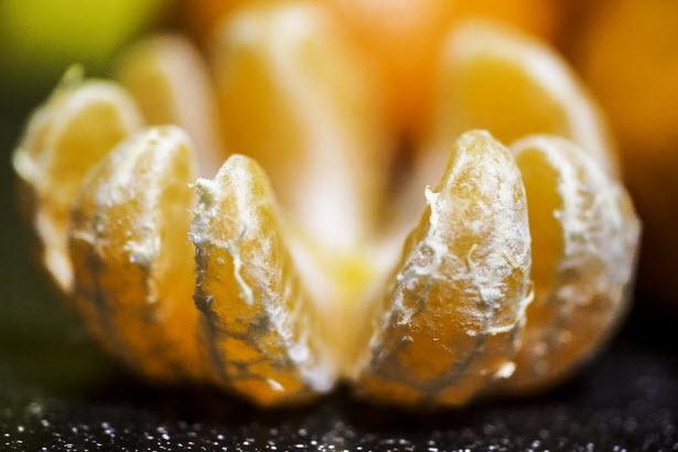 массаж с горячими мандаринами