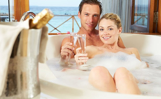 ванна с шампанским