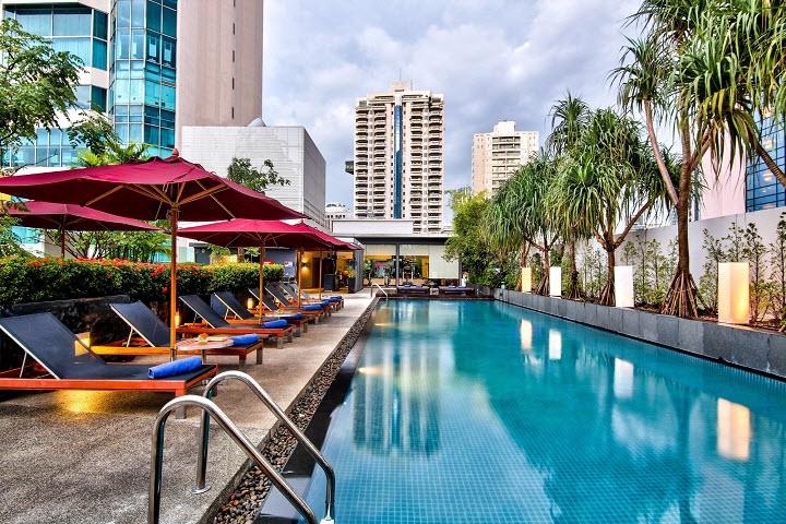 Лучшие отели в Бангкоке с бассейнами на крыше - ТОП-5