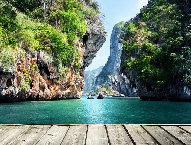 Краби скалы Тайланд