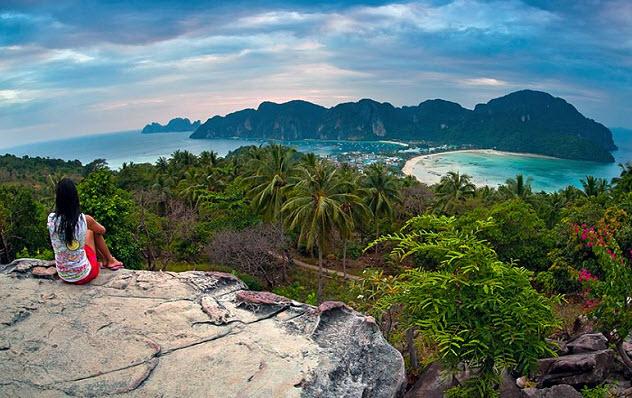 острова Пхи Пхи Тайланд