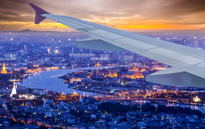 Тайская сказка или как долететь до Бангкока