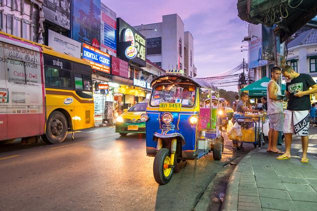как добраться до центра Бангкока
