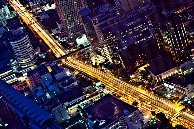 Бангкок вид с небоскреба