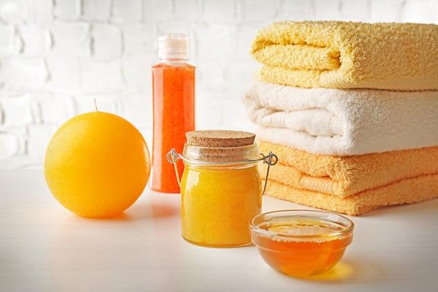 маска и мед для лица