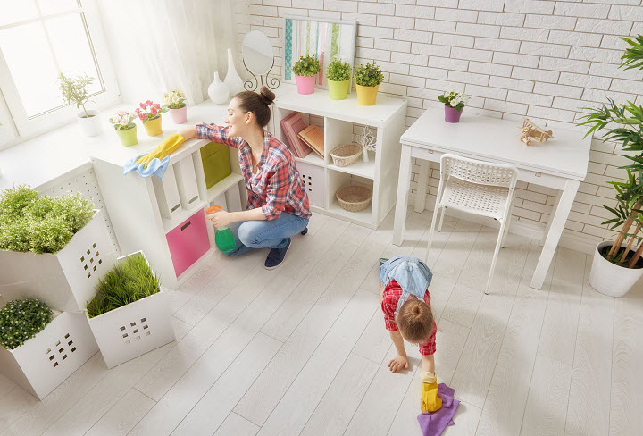 Как научить детей прибираться