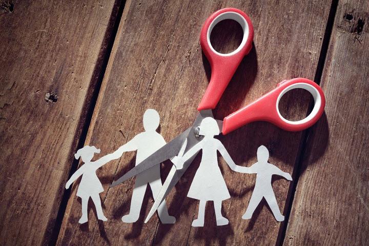Развод родителей в жизни ребенка