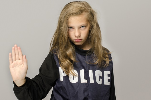 ребенок и полиция