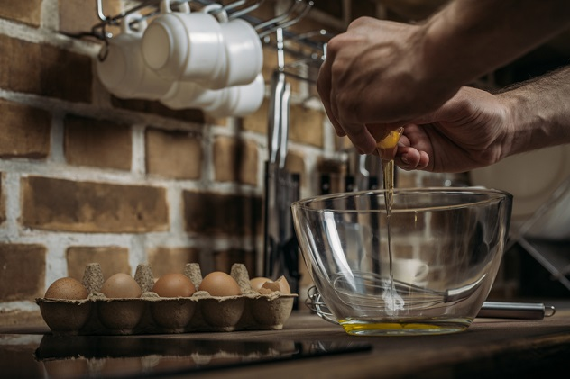 приготовление омлета