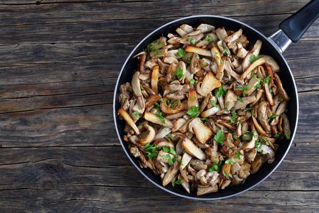 как готовить замороженные грибы