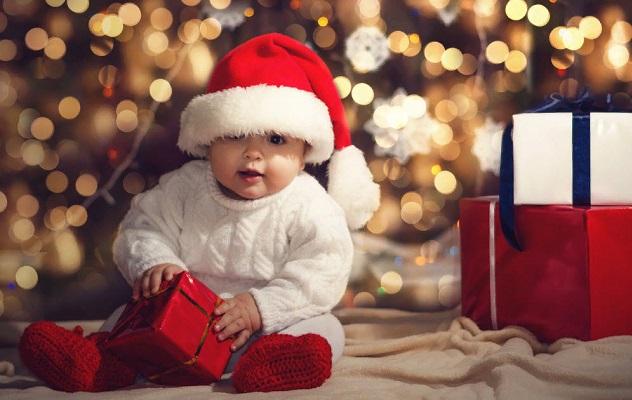 ребенок подарки новый год