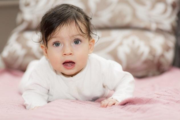 этапы развития детей до года