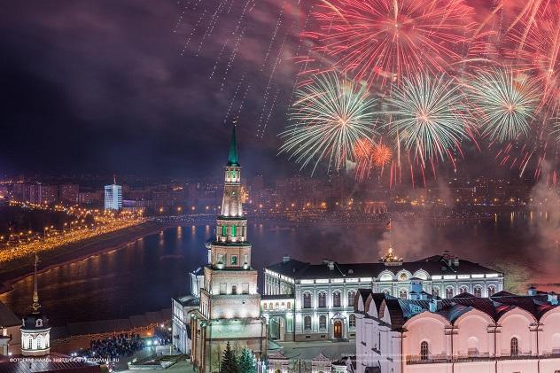 Казань Новый год