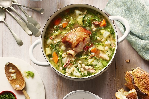французский суп гарбюр