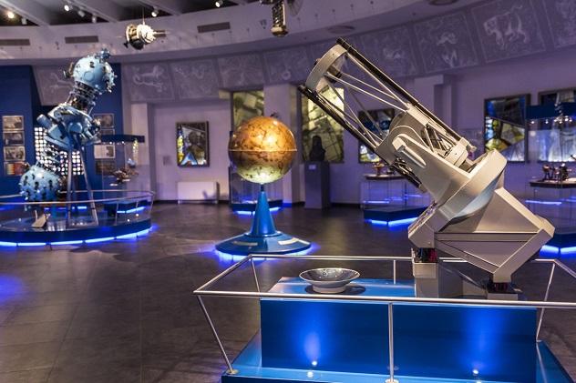 Московский планетарий внутри
