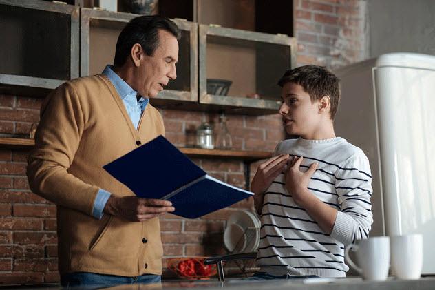 отец и сын разговор