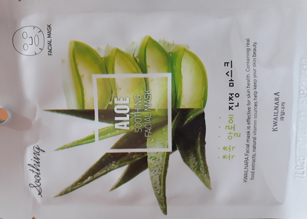 корейская маска с экстрактом алоэ