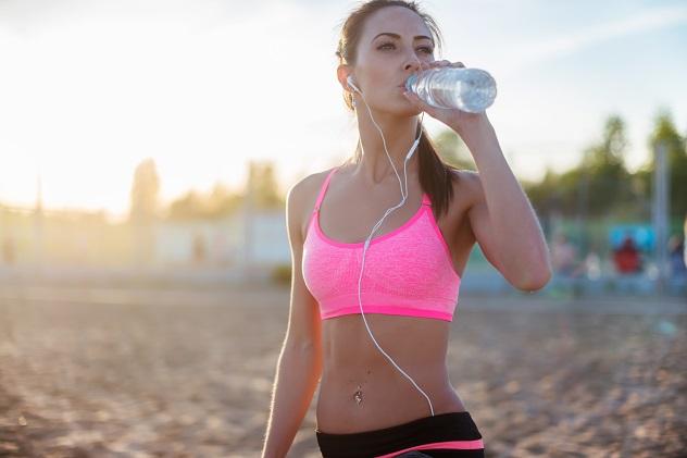 спортивный напиток перед тренировкой